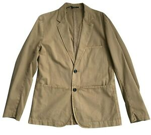 Paul Smith Jeans Tan 2 Button Single Breasted Jacket