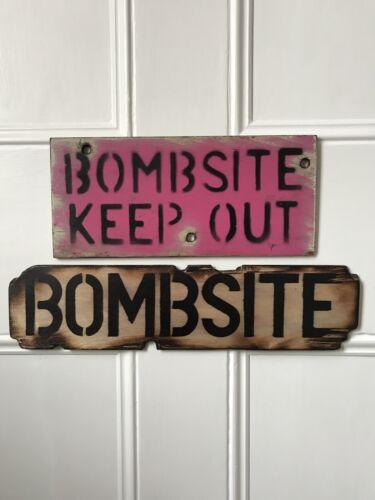Handmade Painted Wooden Army Sign Easter Gift Bedroom Wall Door Boy Den Garage