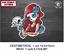 Dama-de-la-Muerte-Skull-DMM152-Lady-of-Death-Roses-Dead-Vinilo-Sticker-Decal