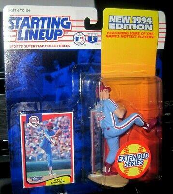 SLU Phillies Starting Lineup Figurine EXT 1994  STEVE CARLTON - Phil
