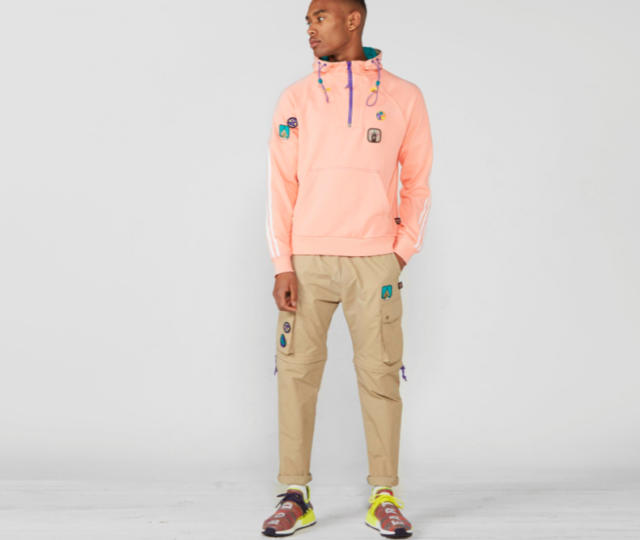 694f36ea5 Frequently bought together. adidas Originals Pharrell Williams HU Hiking ...