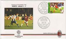 PORTO - MILAN 1-1 - CHAMPIONS LEAGUE BUSTA UFFICIALE 20 NOVEMBRE 1996