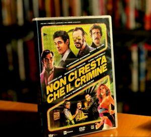 Non Ci Resta Che Il Crimine (2019) DVD COME NUOVO MARCO GIALLINI EDOARDO LEO