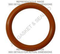Fda Silicone O-rings 235 Qty 6 3-1/8 Id X 3-3/8 Od