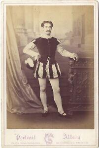 Porträt D' Ein Schauspieler zu Identifizieren Cayol Marseille France Karte