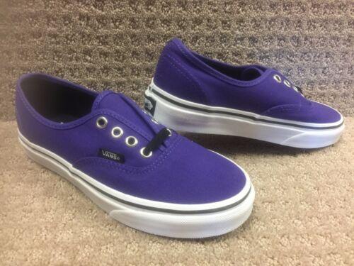 blancas auténtico Oscuro Vans 5 Púrpura Zapatos Talla Hombre 3 fFwIZ