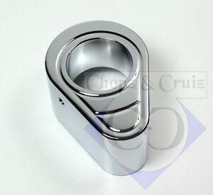 Capot Serrure De Contact-c&c - Aluminium Chromé-afficher Le Titre D'origine