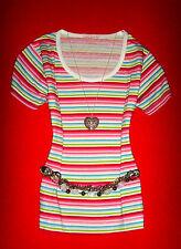 MELROSE SHIRT RocKaBilly BOHO MARITIM STREIFEN S 36 38 NEU !!! TOP !!!