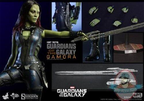 1 6 Marvel Guardianes de la Galaxia Gamora Movie Masterpiece Hot Juguetes