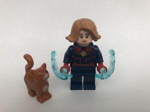 New-Lego-Captain-Marvel-Minifigure-amp-Cat-From-Marvel-Sets-76127-amp-76131-sh555
