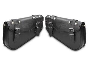 Satteltaschen Paar Kawasaki VN 1500// 1600 Classic// Mean Streak Arizona schwarz