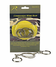 Commando Wire Saw - Camping Tool - Lightweight Cut Tool for Wood Plastic Bone