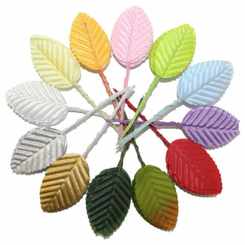Decorative Artificial Leaves Craft Embellishments Choice of Assorted Shades