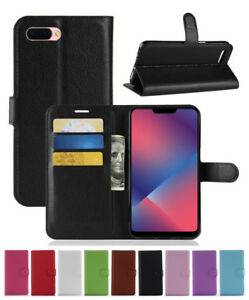 cheaper 68809 37b98 For OPPO A5/A3S/AX5/Realme 2/R15 NEO PU Leather wallet stand flip ...