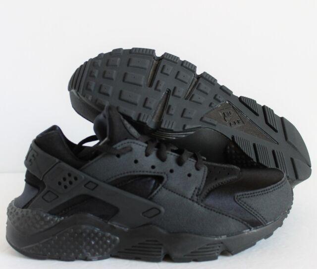 WMNS Nike Air Huarache Run Sz 5 Black Authentic Running Shoes 634835 ... e47283d2b6