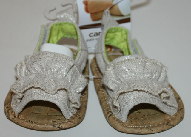 Carter's Infant Girls Cute Silver