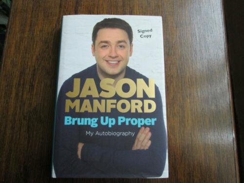 1 of 1 - Jason Manford Brung Up Proper: My Autobiography  signed (Hardback, 2011)