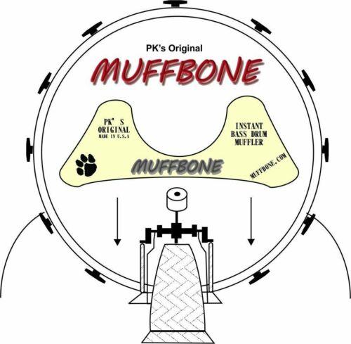 PK/'s Original Muffbone Bass Drum Muffler