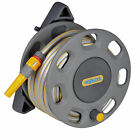Hozelock Wall Mounted Compact Reel With 15m Hose Garden Watering Equipment