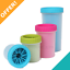 Dexas-Mud-Buster-Dirty-Paw-Brush-Cleaner-Feet-Washer-Cup-for-Dog-Cat-Small-Med-L thumbnail 1