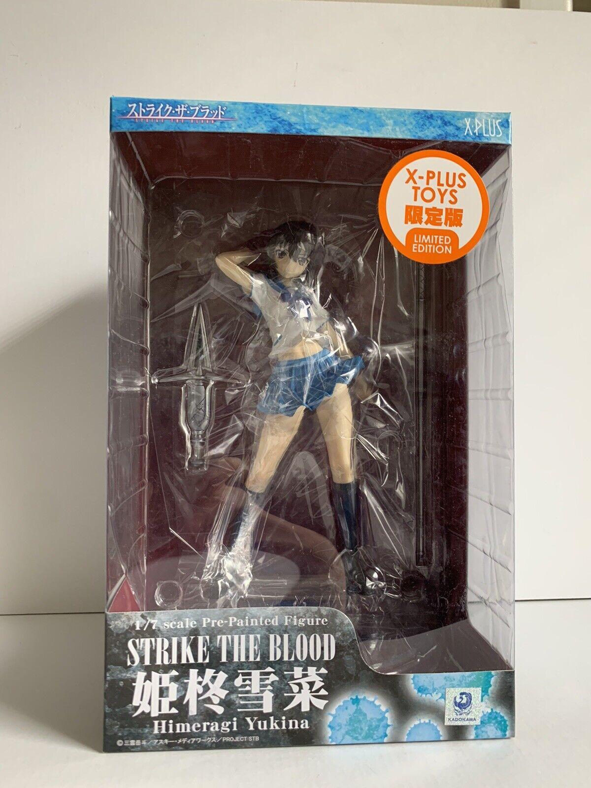Yukina Himeragi Figure Strike The Blood Alter Yukina Himeragi 1 8 Pvc Figure For Sale Online Ebay strike the blood himeragi yukina limited ver 1 7 pvc figure xplus toys limited
