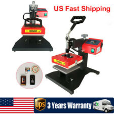 Digital Transfer Heat Press Machine Iron 59x59in Sublimation T Shirt Mouse Pad