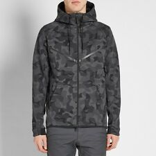 Nike Tech Fleece Camo Brisaveloz antracita y negro-L (835866 021) a estrenar