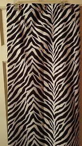 Image Is Loading Park B Smith Shower Curtain Animal Print With