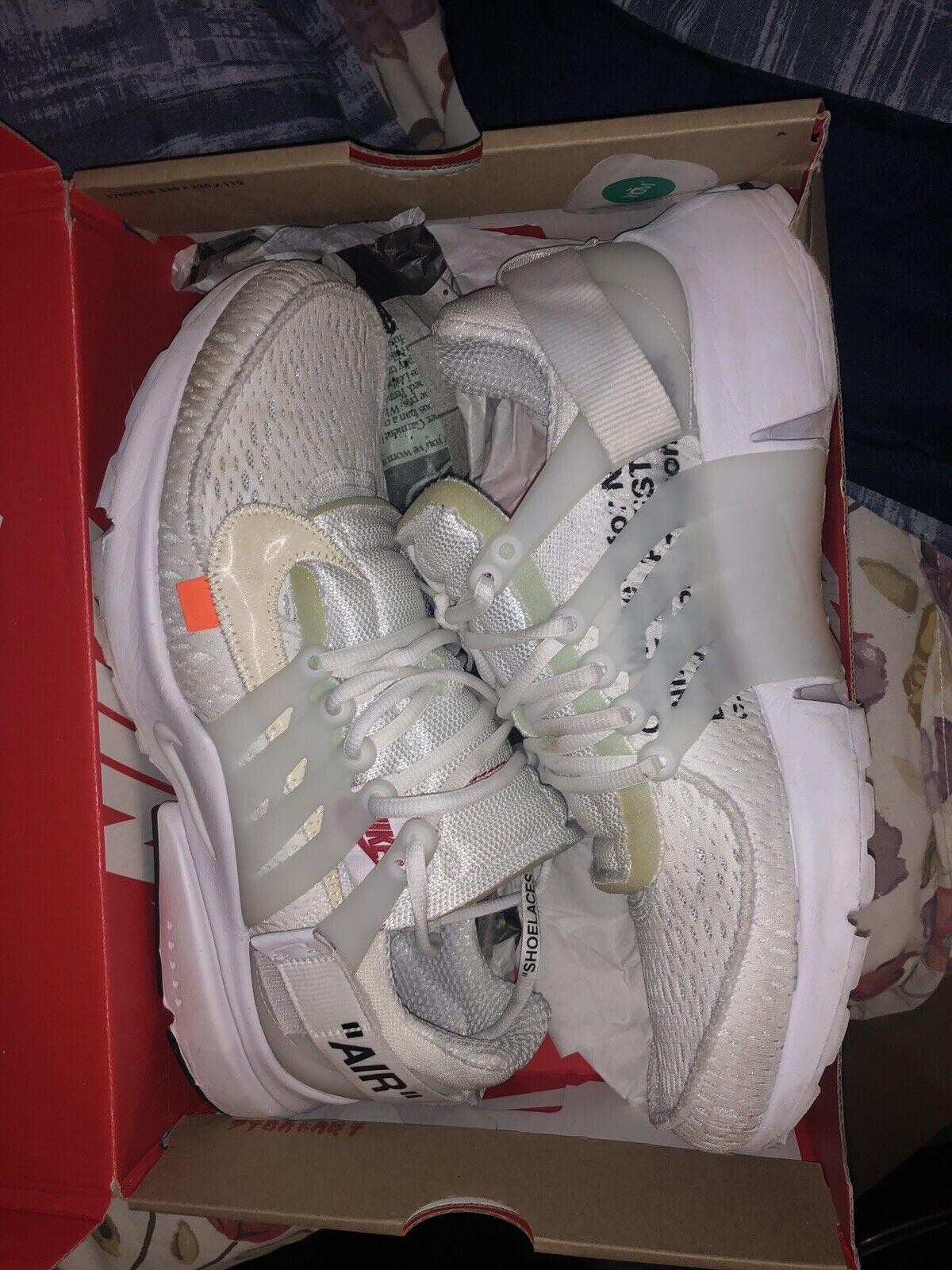 Nike Air Presto X Off White 100% Authentic Size 11