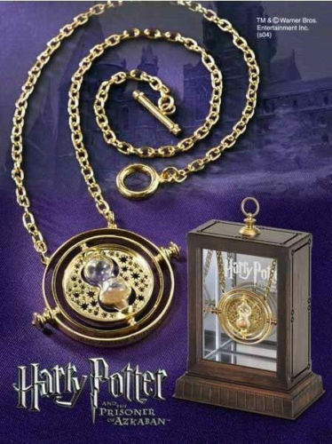 Harry Potter Time Turner Collier Hermione Granger Rotating Spins Hourglass Hot