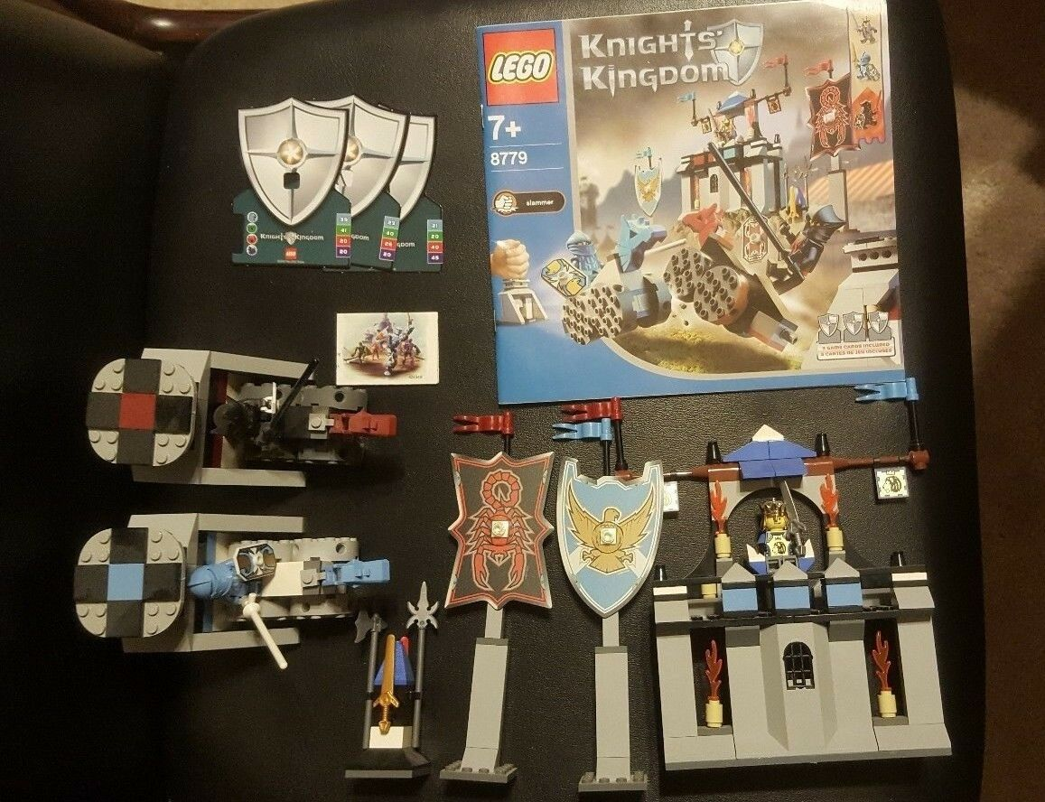 Lego Complete Knights Kingdom 8779 8873 8777 8796 4 sets Grand Tournament Vladek
