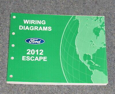 2012 ford escape wiring diagram 2012 ford escape service wiring diagram manual ebay 2012 ford escape trailer wiring diagram 2012 ford escape service wiring diagram