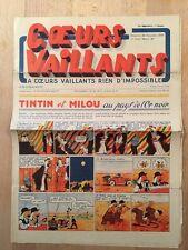HERGE - TINTIN - COEURS VAILLANTS numéro 47 ( 24 novembre 1940)