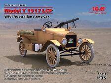 ICM 35663 Model T 1917 LCP, WWI Australian Army Car 1/35 new plastic model kit