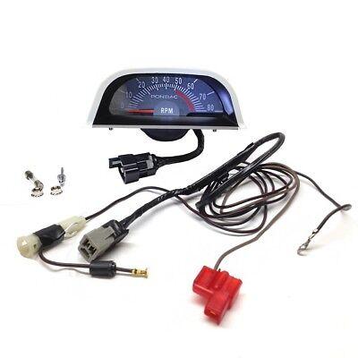 [DIAGRAM_1CA]  1968 GTO LeMans Firebird Hood Tach 5100 RPM NOS Quality | eBay | 1966 Gto Hood Tach Wiring |  | eBay