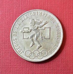 Mexico 1968 Juegos Olimpicos De Verano Ciudad De Mexico 25 Pesos
