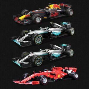 Bburago-1-18-F1-Racing-Diecast-Model-Car-Mercedes-Ferrari-RB-Free-Shipping-2019