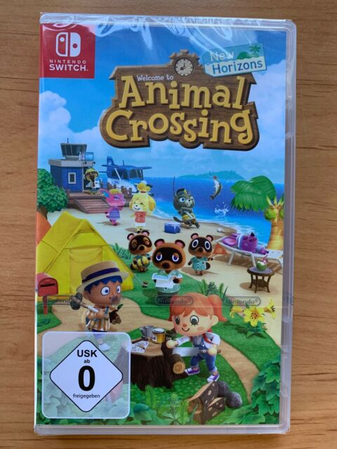 Animal Crossing New Horizons Switch NEU OVP