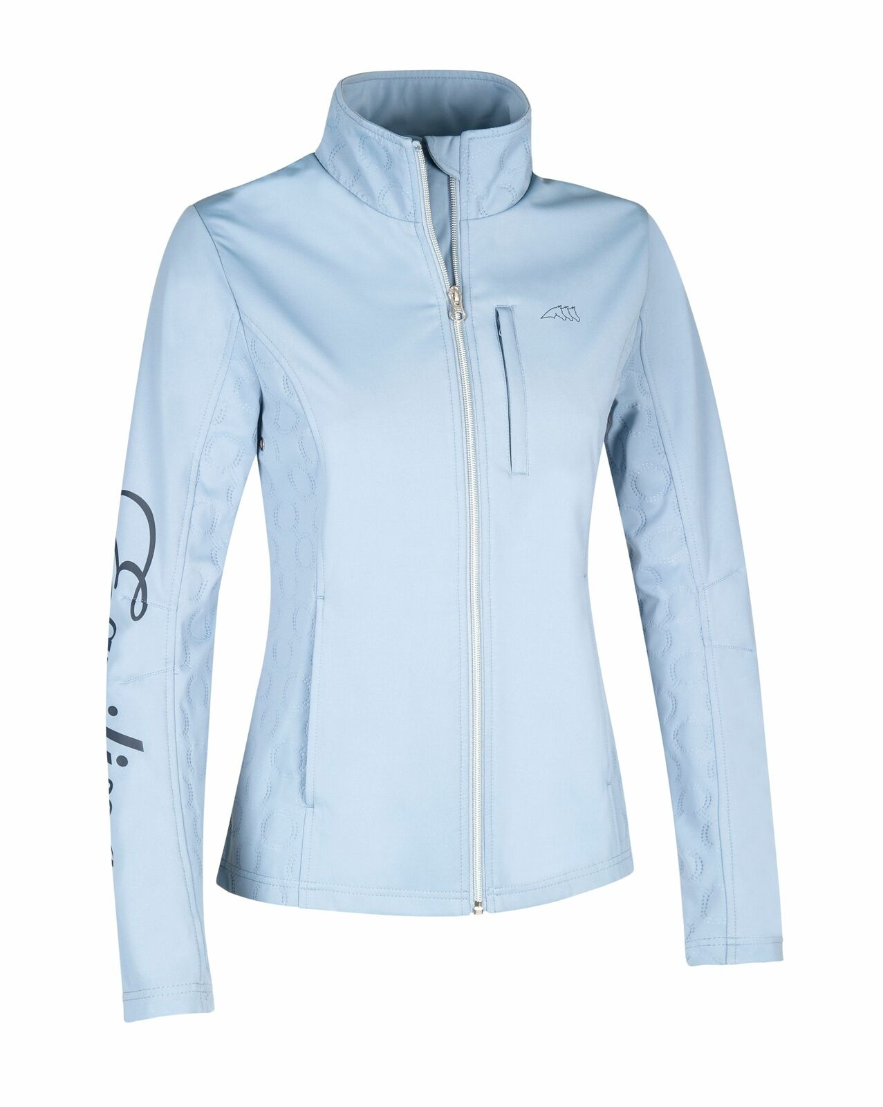 EQUILINE Miele Wouomo Soft Shell JKT AZZURRO SS 2019