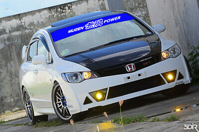 Compare to Mugen Power Stickers Windshield Decals Banners JDM Honda Acura