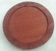 Hand Crafted Mahogany Opon Ifa, Divination Board, Tablero - Ifa Orisha Santeria
