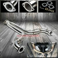 Stainless Steel Exhaust Y-pipe Downpipe For Infiniti 03-07 G35 V35 V6 3.5l Rwd