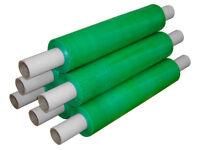 Pallet Stretch Shrink Wrap Film Ext Core Tint Green 400mm x 250m 20mu x 6 Rolls