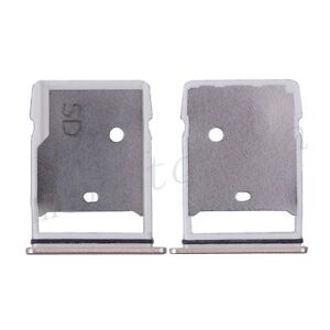 HTC 10 Sim Card Holder Slot Tray + SD Card Holder Slot Tray Replacement Gold