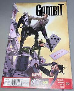 Gambit #12 Marvel NEWSSTAND VARIANT 2013