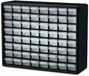 Tools Organizer Cabinet 64 Drawer Storage Hardware Small Parts Home