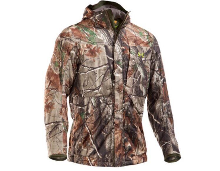 Armour Men s Parfüm Control Gunpowder Camo Jacket és Pants Size-L, 34/32