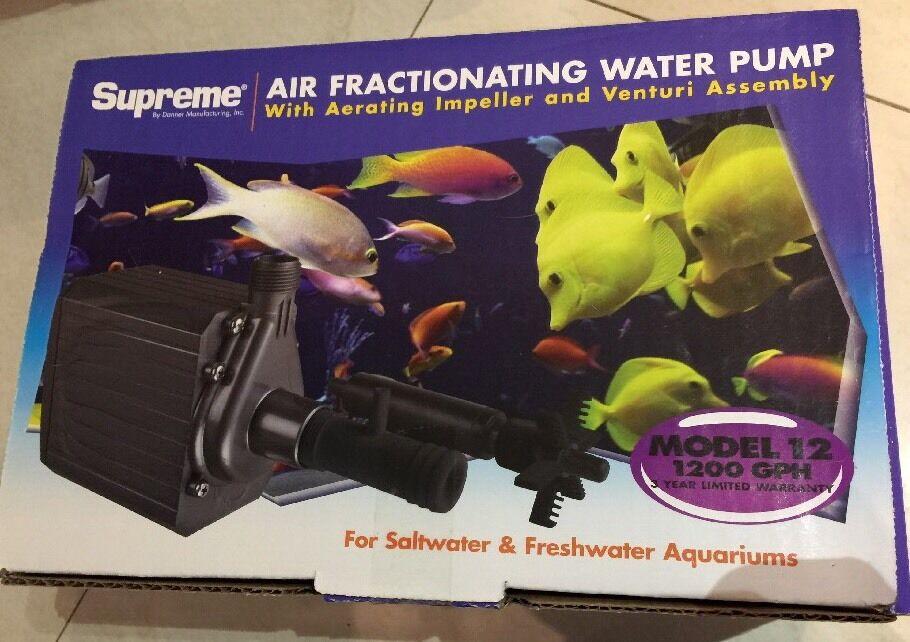 PondMaster Air Fractioning PUMP 1200 GPH aquarium