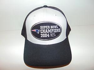 Pats Patriots Super Bowl 38 Championship Hat Cap Tom Brady 2003 ... 87b7de05cfe