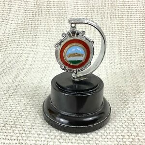 1960-Vintage-Moteur-Voiture-Rally-Trophy-Tresor-Chasse-Email-Badge-Medaillon